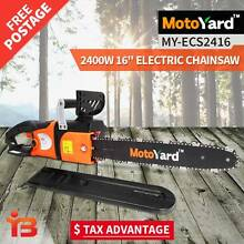 "Buy MotoYard 16"" Bar 2400W Electric ChainSaw, Sydney Fairfield East Fairfield Area Preview"