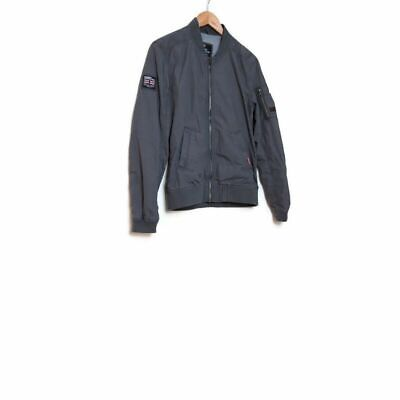 Superdry Rookie Edition Military Issue Grey Bomber Jacket S