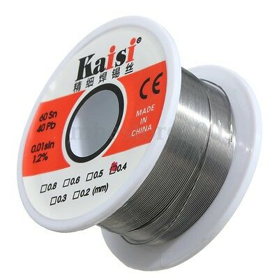 0.4mm 50g Flux 1.2 Tin Lead Rosin Core Solder Soldering Wire Welding 6040