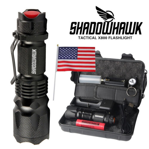 Led Flashlight 20000LM 18650 Rechargeable USB Tactical torch Camping Waterproof