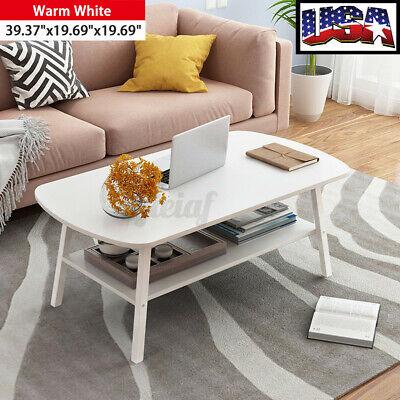 US 100*50*50CM Wood Home Office Living Room Tea Coffee Table Lounge Storage Desk