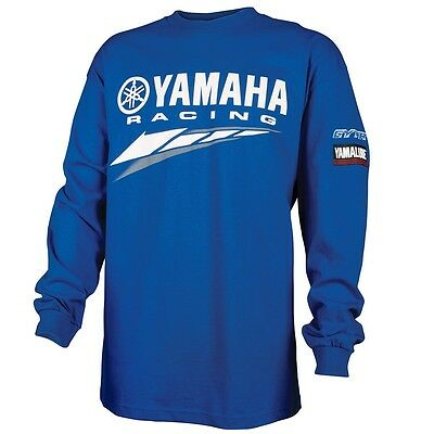 Yamaha Racing Special Edition L/S T-Shirt - Yamaha Blue - Size Small - Brand New