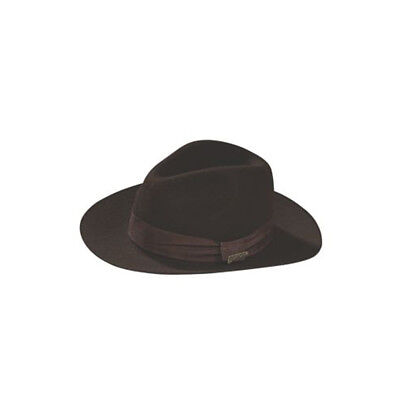 Deluxe Kids Indiana Jones Hat Costume Prop Harrison Ford Indy Movie Halloween