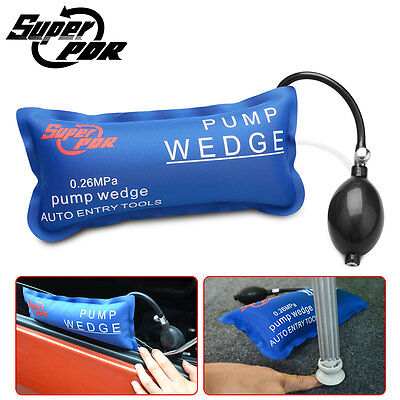 Durable Pump Wedge Inflatable Air Automotiv Shim Car Door Windows Install Tool