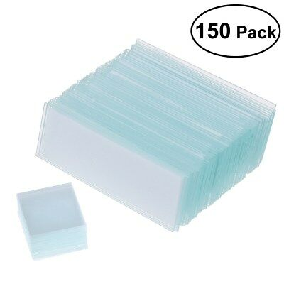 Safe Blank Microscope Slides And Square Cover Glass Set Kit Microscope Slide Kit