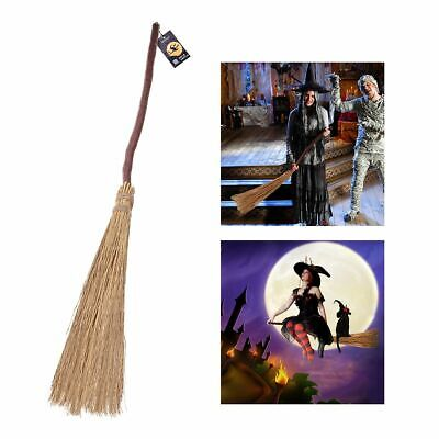 Witch Crafts For Halloween (Witch Broom For Halloween Costumes Party Wizard Props Lightweight Cosplay)