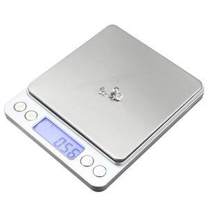 Balance Electronique Digitale de Précision 0.01gr 500g Pese Scale Bijoux Neuf