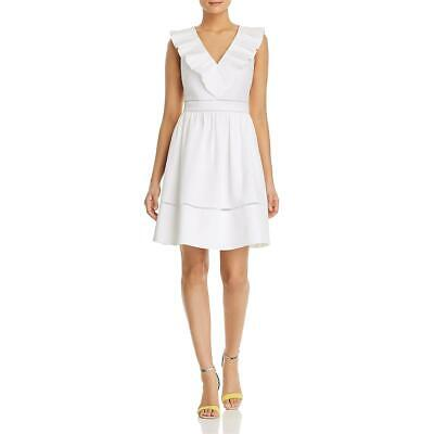 Kate Spade Womens White Mini Special Occasion Party Cocktail Dress 6 BHFO 4349 White Special Occasion Dress