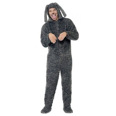 Adult Dog Costume Kigurumi Jumpsuit Funny Wilfred Halloween Fancy Dress - Wilfred Costume