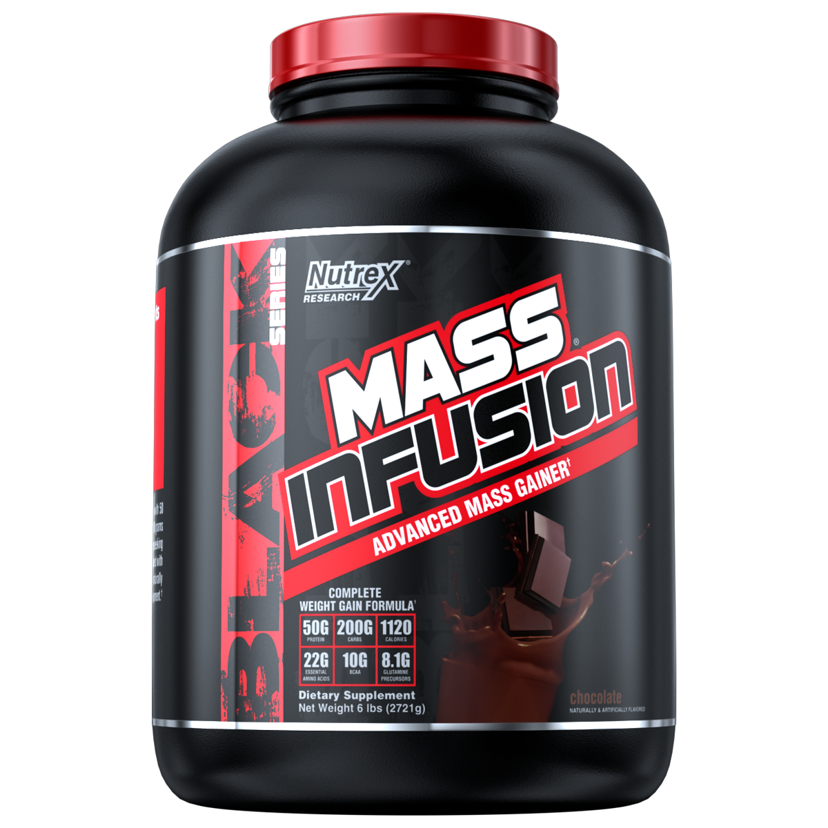 Nutrex Research Mass Infusion Weight Gainer and Muscle Build