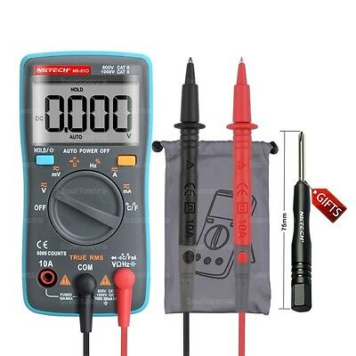 Nktech Nk-51d True Rms Digital Multimeter Temperature Resistance Cap Frequency