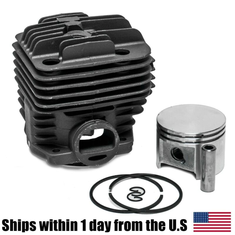 Cylinder Piston Fit Stihl TS400 Concrete Saw 49MM Rings 42230201200