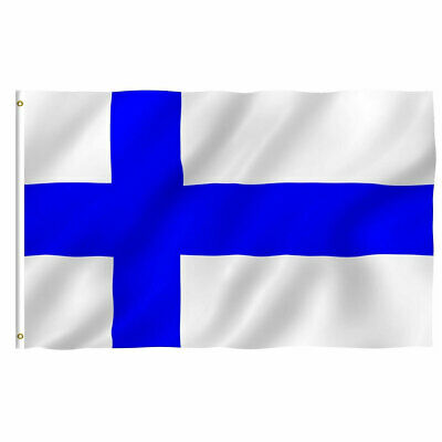 Finland Finnish Flag 3×5 Polyester Indoor Outdoor Flag Pennant Banner Décor