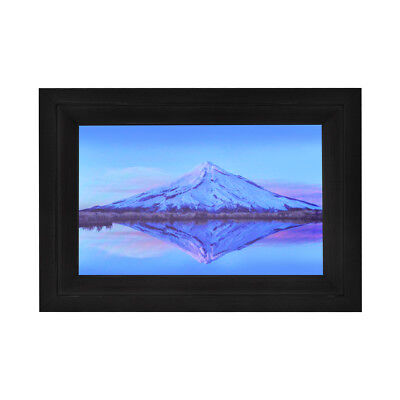 """Life Made Digital Touch-Screen 7"""" Picture Frame with Wi-Fi - Black - MFRB"""