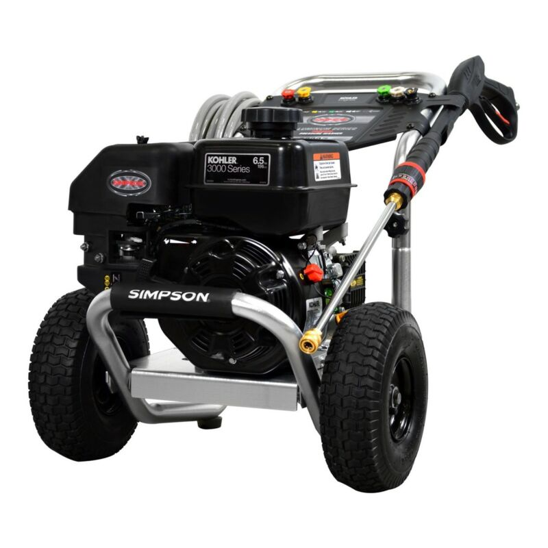 Aluminum Series 3200 PSI @ 2.5 GPM Gas Engine Commercial Pressure Washer with Ko