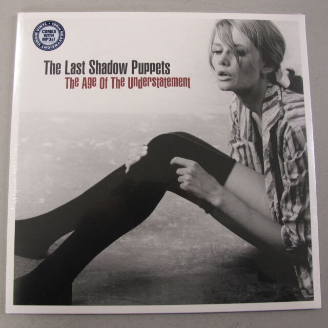 THE LAST SHADOW PUPPETS - The Age of the Understatement **Vinyl-LP + MP3**NEW**