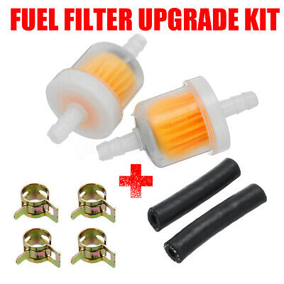 2x In-line Fuel Filter Upgrade Kit For Eberspacher Webasto Air Heater Diesel .@