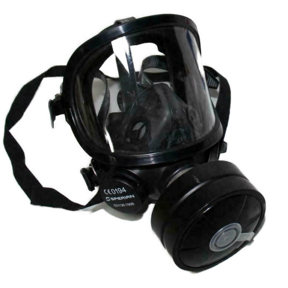 Fernez Vollgesichtsmaske Inkl. RD40 Filter  Filter - Schwarz  Schutzmaske Lagerb