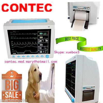 Contec Cms8000 Vet Multi-parameter Veterinary Patient Monitor For Animaldogcat