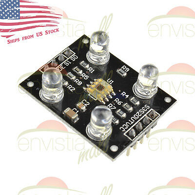Tcs3200 Repl Tcs230 Color Recognition Sensor Detector Module For Mcu Arduino