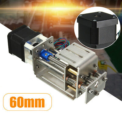 Z Axis Slide 3 Axis 60mm Diy Milling Linear Motion Cnc Engraving Machine