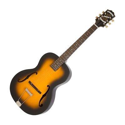 Epiphone Masterbilt Century Olympic Acoustic Electric Guitar Violin Burst New