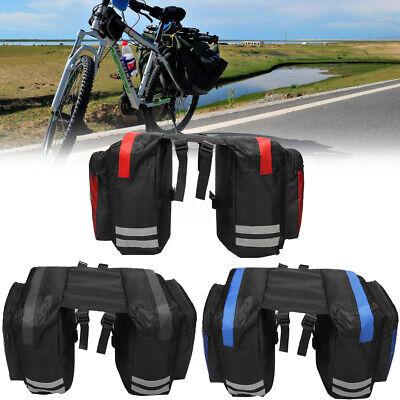 600D 20L Bike Bicycle Rear Rack Seat Saddle Bag Pannier Tail