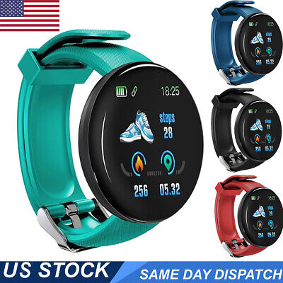 Bluetooth Smart Watch iPhone Android Waterproof Fitness Activity Tracker Fitbit