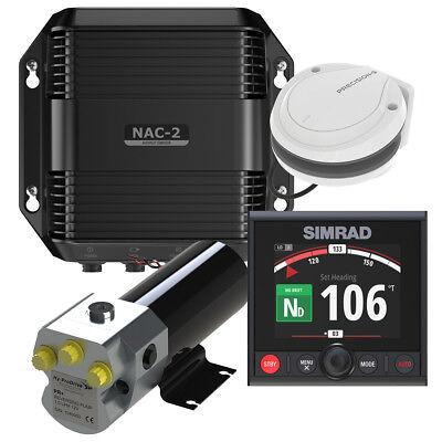 Simrad NAC-2 Autopilot Komplett Set Hydraulik mit AP44 Hydraulische Autopilot