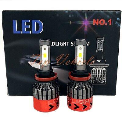 2017 270W 27000LM CREE H11 LED Headlight Kit Light Beam Bulbs 6000K High Power