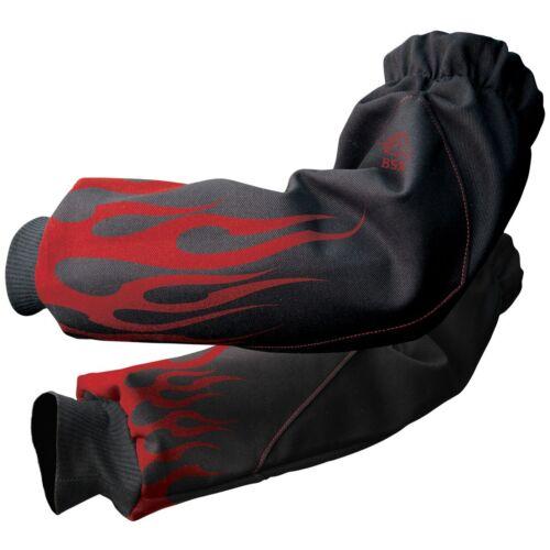"""Revco Black Stallion BSX 19"""" FR Cotton Welding Sleeves (BX9-19S-BK)"""