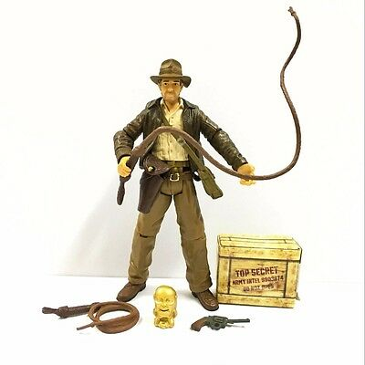"Rare HASBRO 3.75"" Indiana Jones Raiders Of The Lost Ark Action Figure boy toy"