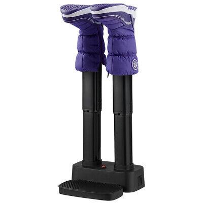 2-Shoe Electric Shoe Dryer Warmer Portable Adjustable Boots