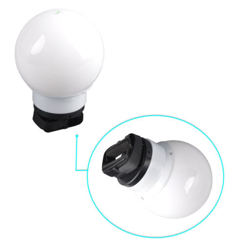 Diffuser Soft Ball Softbox Dome for Nikon, Canon Flash Speedlights Photo Studio
