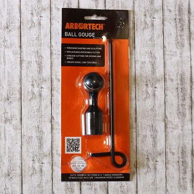 Winkel Ball (Ball Gouge Arbortech Kugelmeißel für Winkelschleifer)
