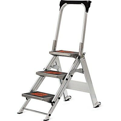Insufficient Giant Ladder System Safety Step Ladder - 3-Careful  10310BA