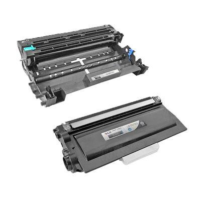 2 Pack TN750 & DR720  Printer Toner Cartridge & Drum for Brother MFC-8810DW