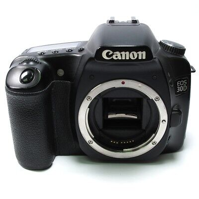 Canon EOS 30D 8.2 MP Digital SLR Camera - Black FAULTY (Body Only)