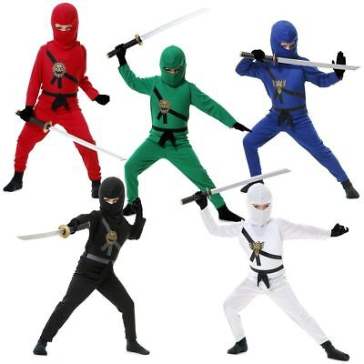 Charades Ninja Rächer Warrior Serie Kinder Halloween Kostüm - Ninja Warrior Kind Kostüm