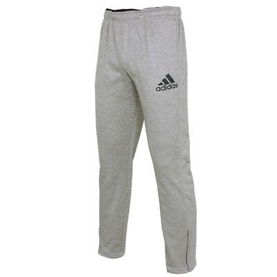 adidas Herren Climawarm Trainingshose Team Issue Fleece Tapered Sweathose grau