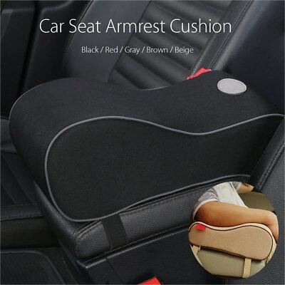 Luxury Car Suv Pu Memory Foam Center Box Armrest Console Pad Cushion Cover Auto