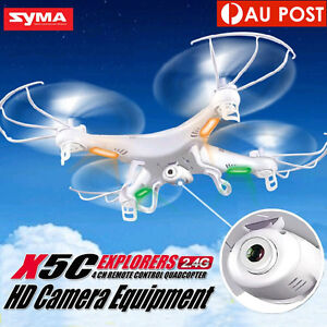 SYMA X5C HD 2MP Camera 2.4GHz 4CH 6Axis RC Quadcopter Airplane Helicopter