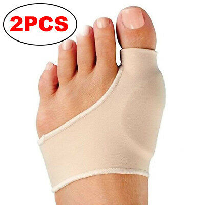 2PCS Orthopedic Bunion Corrector and Bunion Relief Sleeve with Gel Bunion Pads