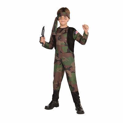 Army Man Soldier Camouflage Child Costume Forum Novelties