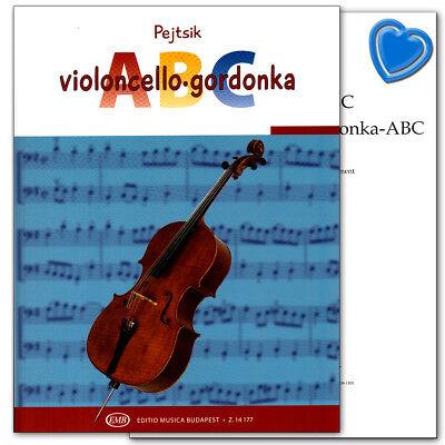 Violoncello ABC von Arpad Pejtsik - Editio Musica Budapest Z14177 9790080141779