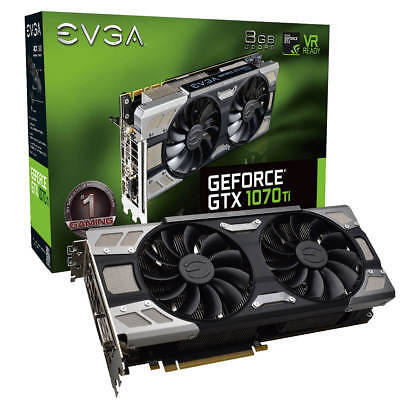 EVGA GeForce GTX 1070 Ti FTW ULTRA SILENT GAMING 08G-P4-6678-KR