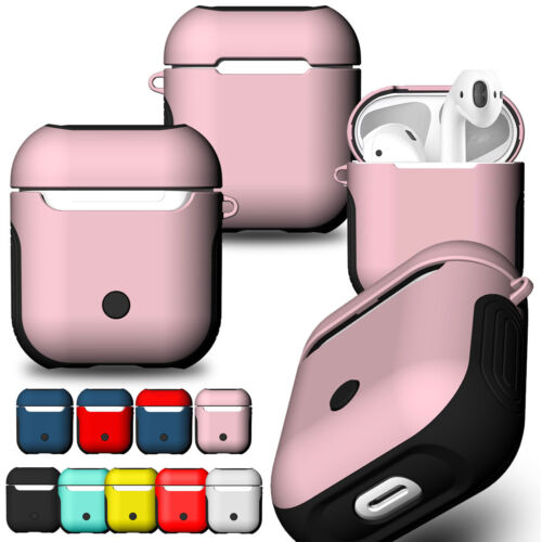 Hybrid Rubber Skin Silicone Cover EarPods Case For iPhone Ai