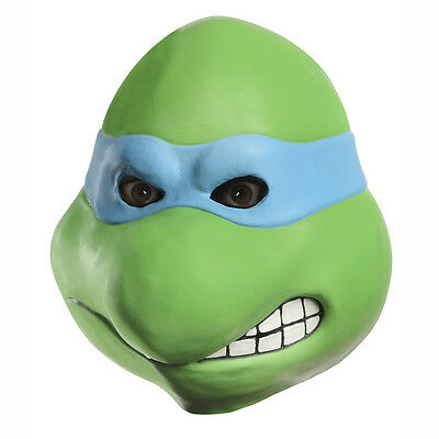 Teenage Mutant Ninja Turtles Leonardo Full Overhead Latex Adult Costume Mask ()
