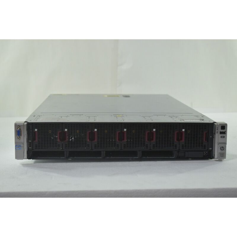 HP Proliant DL560 G8 2U | 4x Intel E5-4650 752GB DDR3 RAM P420i | NO HDD