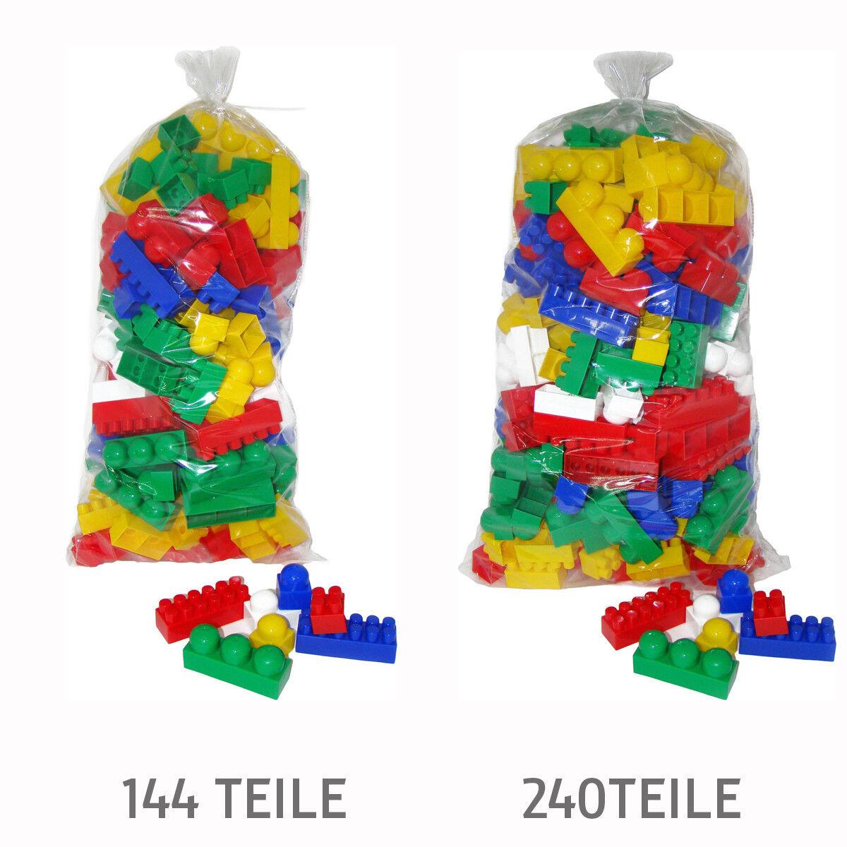 Wader Polesie Bausteine Set Super Mix Kinder Bausteine Spielbausteine Bauklötze
